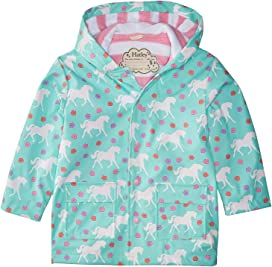 405616e9e Color Changing Galloping Horses Raincoat (Toddler/Little Kids/Big Kids)