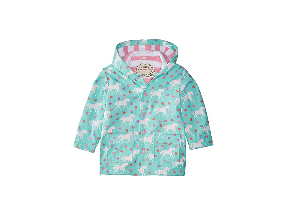 Hatley Kids - Hatley Kids Color Changing Galloping Horses Raincoat