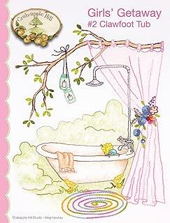 Girls' Getaway #2 Clawfoot Tub Pattern by Crab Apple Hill