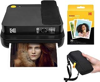 KODAK Smile Classic Cámara Digital instantánea con Bluetooth (Negro) Kit de Inicio