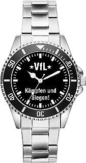 VFL Geschenk Artikel Idee Fan Uhr 2536