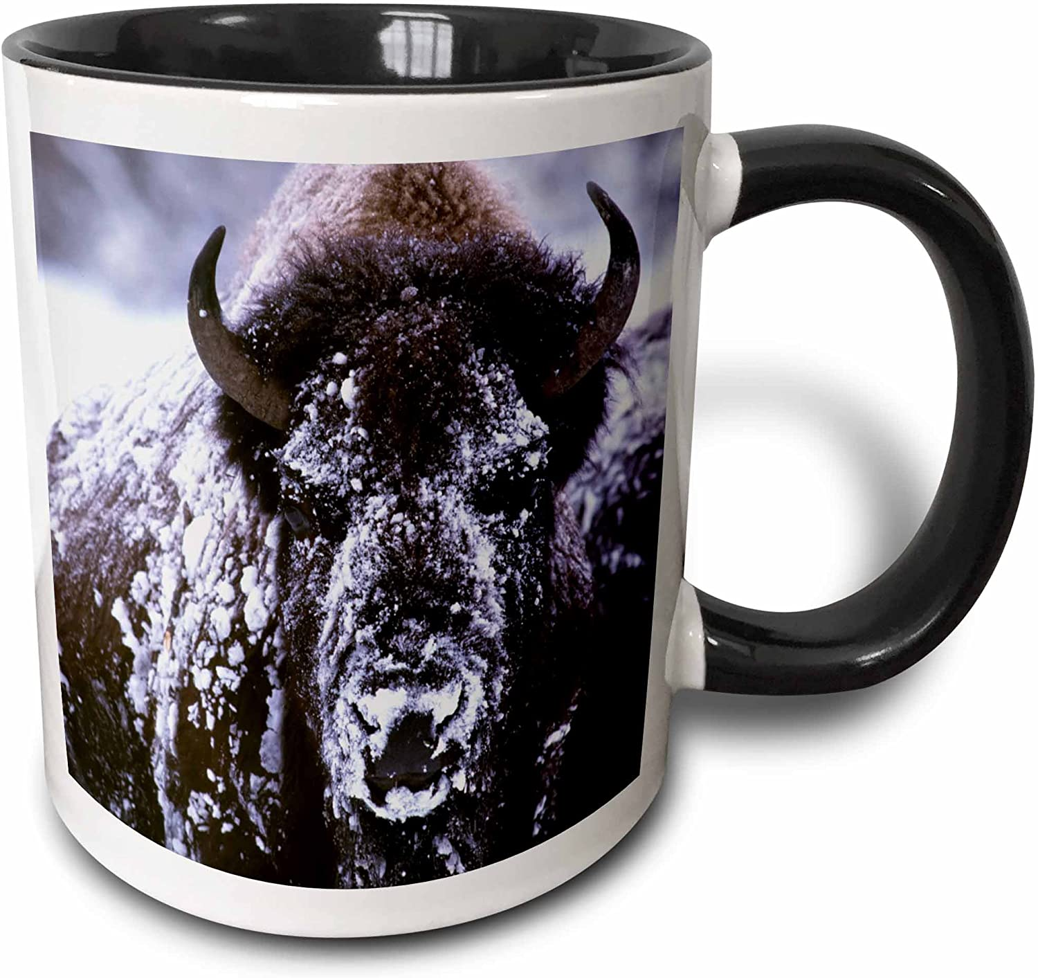 3dRose Yellowstone NP Bison in Winter-US51 Max 66% OFF Slei CSL0007-Charles Max 63% OFF