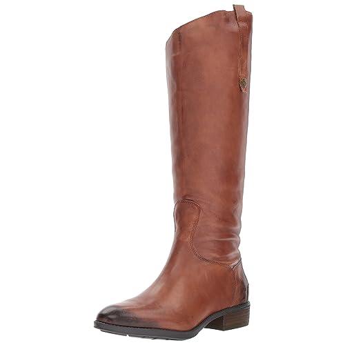 419b7d82f3fe Women s Leather Riding Boots  Amazon.com