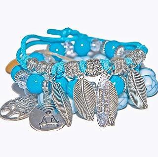 Bracelets for Couples, Distance love bracelets, Meditation pair bracelet, Mindfulness set bracelets unisex, Bracelets with...