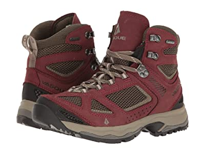 Vasque Breeze III GTX (Red Mahogany/Black Olive) Women