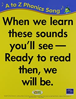 SING, SPELL, READ AND WRITE A THRU Z PHONICS SONG CARDS '04C