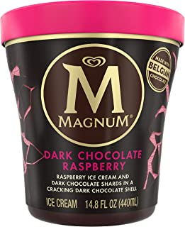 Magnum Ice Cream Dark Chocolate Raspberry, 14.8 oz (frozen)