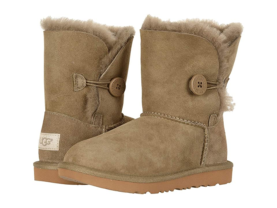UGG Kids Bailey Button II (Little Kid/Big Kid) (Antilope) Girls Shoes