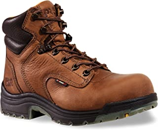 "Timberland PRO Women's 55398 Titan 6"" Soft-Toe Boot,Brown,5.5 W"