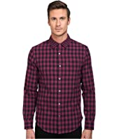 Original Penguin - Long Sleeve Double Weave Gingham