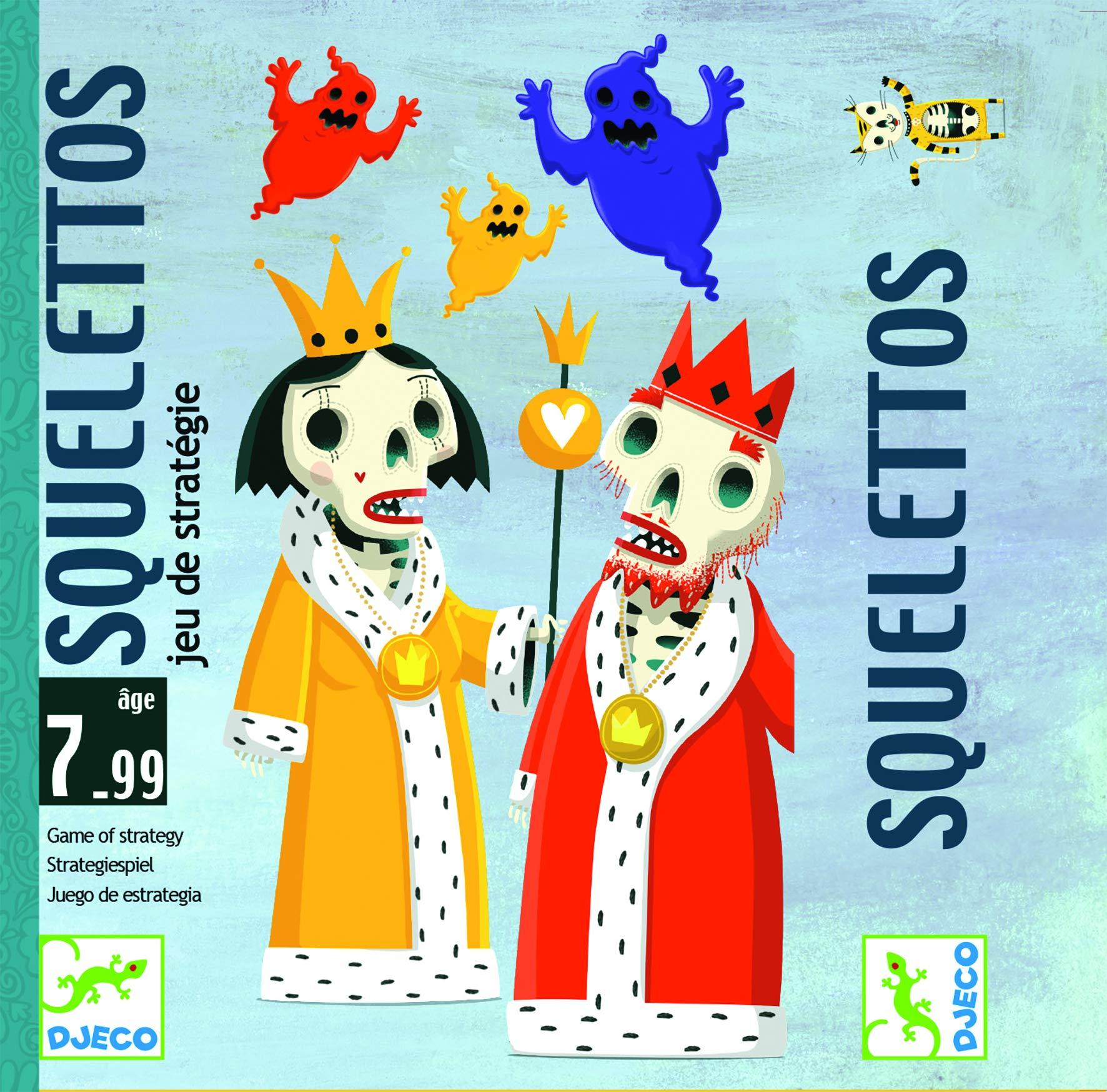 DJECO- Juegos de cartasJuegos de cartasDJECOCartas Squelettos, Multicolor (36): Amazon.es: Juguetes y juegos