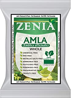 Zenia Dried Whole Amla (Indian Gooseberry) Herb 100 grams