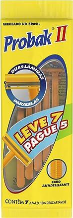 Aparelho de Barbear Descartável Gillette Probak com 7 Unidades Leve 7 e Pague 5