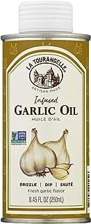 La Tourangelle, Garlic Infused Sunflower Oil, 8.5 fl oz (Packaging may Vary)