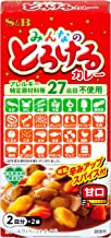 S&B みんなのとろけるカレー (27品目不使用) 81.6g