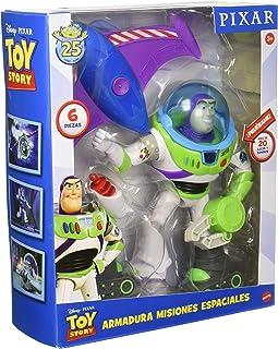 Disney Pixar Toy Story Buzz Armadura Misiones Espaciales Fig