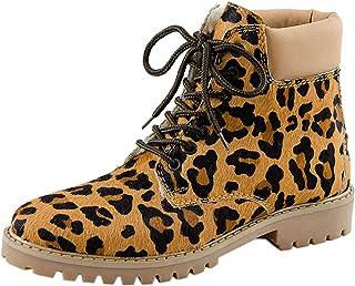 MARC - botas de Piel Lisa para Mujer Marrón marrón
