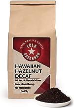Lola Savannah Hawaiian Hazelnut Ground Coffee - A Cup of Tropical Paradise | Arabica Beans Roasted with Mild Hazelnut & Co...