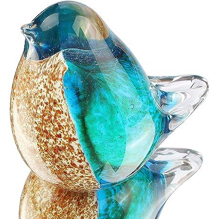 murano bird art glass bird sculpture hand blown glass bird figurine glass bird ornament Glass bird glass figurine glass animals