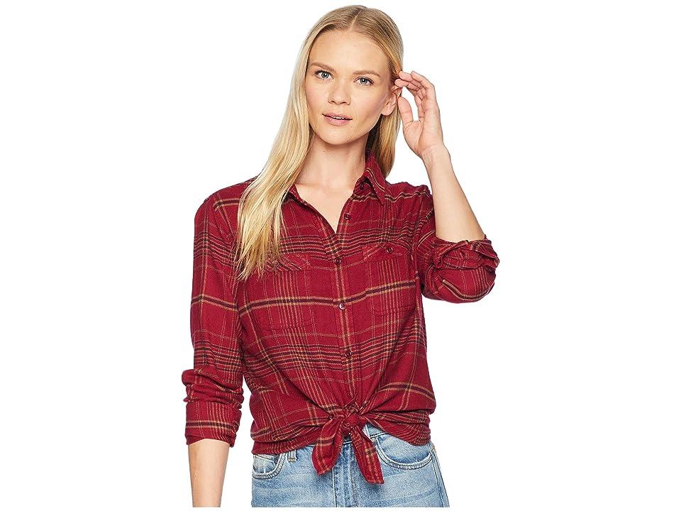Mountain Khakis Scout Shirt (Raisin) Women