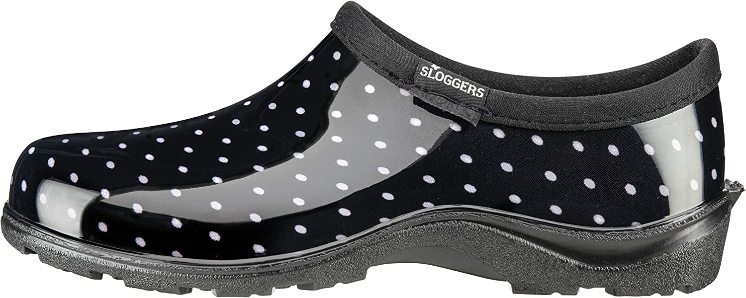 Side view of the Sloggers Rain and Garden Shoes.