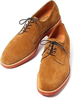 [サンダース] メンズ 革靴 ビジネスシューズ JACKSON PLAIN GIBSON SHOE ブラウン BROWN 1955TS [並行輸入品]