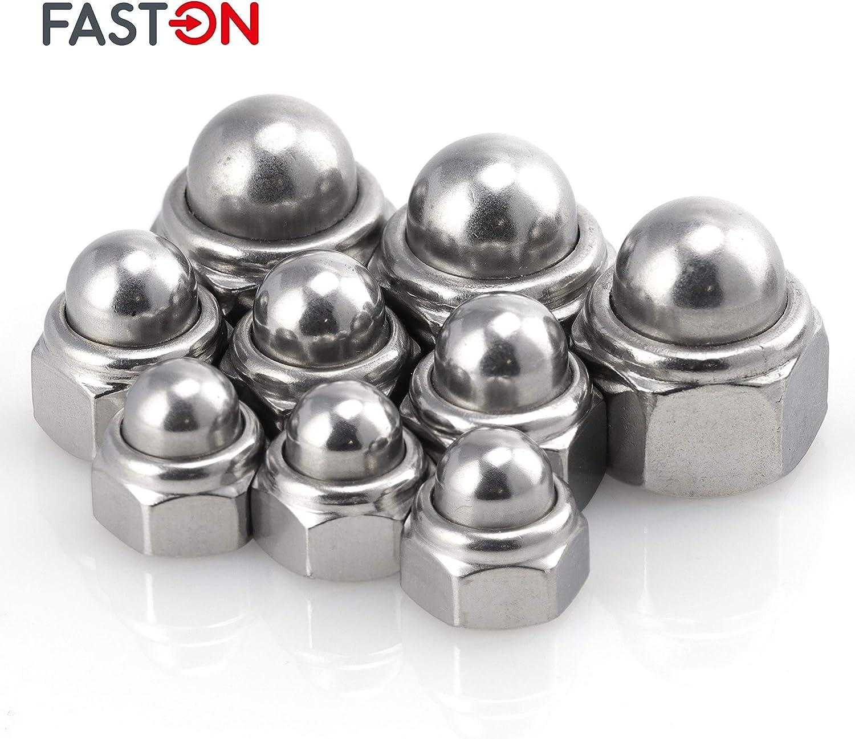 Faston dadi autobloccanti in acciaio inox A2 V2A dadi di sicurezza esagonale dadi bloccaggio dadi elastici