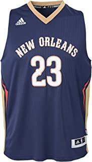NBA New Orleans Pelicans-Anthony Davis Youth Outerstuff Player Swingman Jersey-Road, Multi, Youth X-Large (16-18)