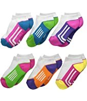 Athletic Low Cut 1/2 Cushion 6-Pack (Toddler/Little Kid/Big Kid)