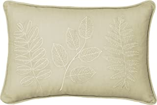 "Beautyrest Laurel Pillow, Straw, 12"" x 18"""