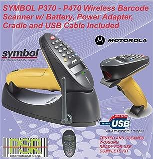 Symbol phaser P370 17 keys wireless industrial barcode scanner kit USB (Renewed)