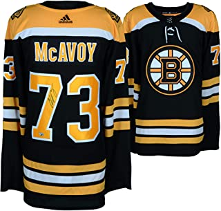 Charlie McAvoy Boston Bruins Autographed Black Adidas Authentic Jersey - Fanatics Authentic Certified