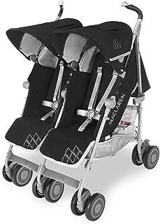 comprar comparacion Maclaren Twin Techno Silla de paseo doble - ligera, para recién nacidos hasta los 50kg, encaja a través de la mayoría de l...