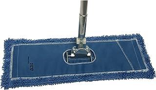 "48"" Microfiber Dust Mop Kit : (1) Premium Blue Microfiber Dust Mop, (1) Dust Mop Frame & (1) Ergonomic Dust Mop Handle"