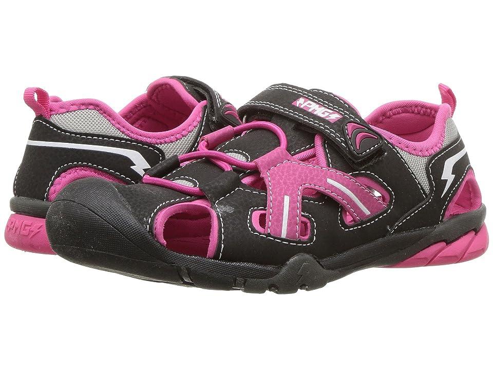 Primigi Kids PAQ 14557 (Toddler/Little Kid/Big Kid) (Black/Pink) Girl