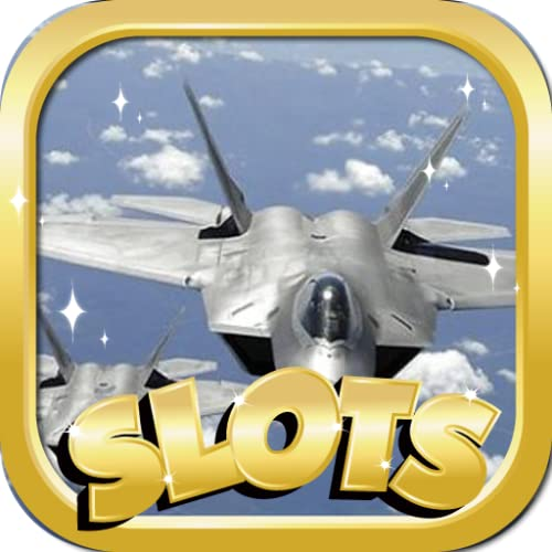 Free Slots Machine Play : Air Force Ferari Edition - Best Free Slots Game With Las Vegas Casino Slots Machines For Kindle! New Game!