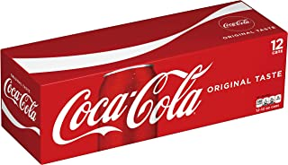 Coca-Cola Coke Soda Soft Drink 12 Ounce - 12 Pack