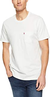 Levi's 29813-0010 Men's Sunset Pocket Tee White Smoke