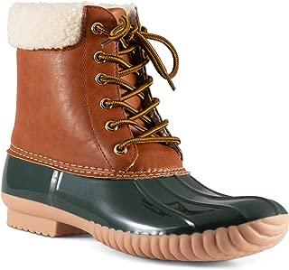 Women's Becca Sherpa Cuff Insulated Duck Boot