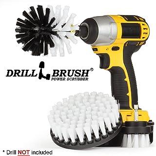 Productos de limpieza - coche taladro Cepillo - cerda suave Detallando friega el cepillo Kit - Kayak - Car Wash - Llantas, ruedas y llantas - Interiores - de los asientos, alfombras, tapicería