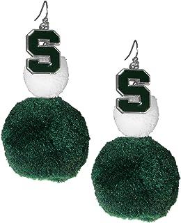 NCAA womens Pom Pom Earrings