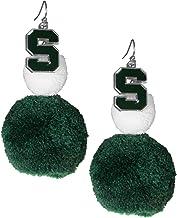 Siskiyou NCAA womens Pom Pom Earrings