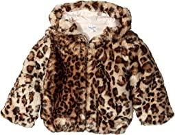 Splendid Littles - Leopard Faux Fur Hooded Jacket (Infant)