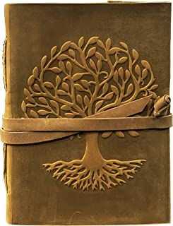 $20 » Sponsored Ad - Leather Journal Tree of Life | Leather Tree of Life Notebook for Women | Tree of Life Journal and Notebook ...