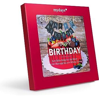 mydays Erlebnis-Gutschein 'Happy Birthday'   1 Person, 150 Erlebnisse, 870 Orte   Geburtstagsgeschenk für Mann und Frau