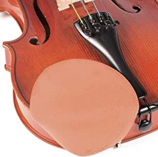 Strad Pad Rosewood Color Chinrest Pad: Standard Size
