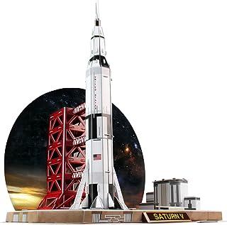 Daron Saturn V Rocket 3D Puzzle (68-Piece)