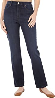 Amanda Classic Fit Tapered Leg Womens Jeans (Color:...
