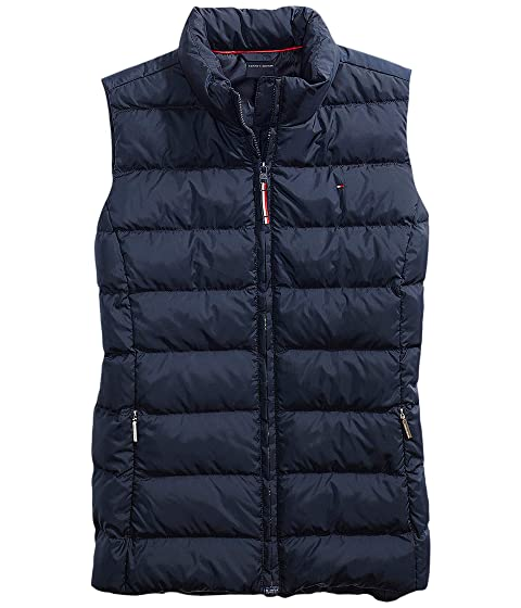 Puffer Vest with Magnetic Zipper