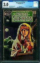 HOUSE OF SECRETS #92 CGC 3.0 FIRST SWAMP THING-BERNI WRIGHTSON 1250931013